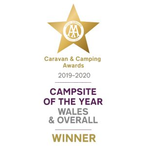 AA Caravan and Camping Award winners